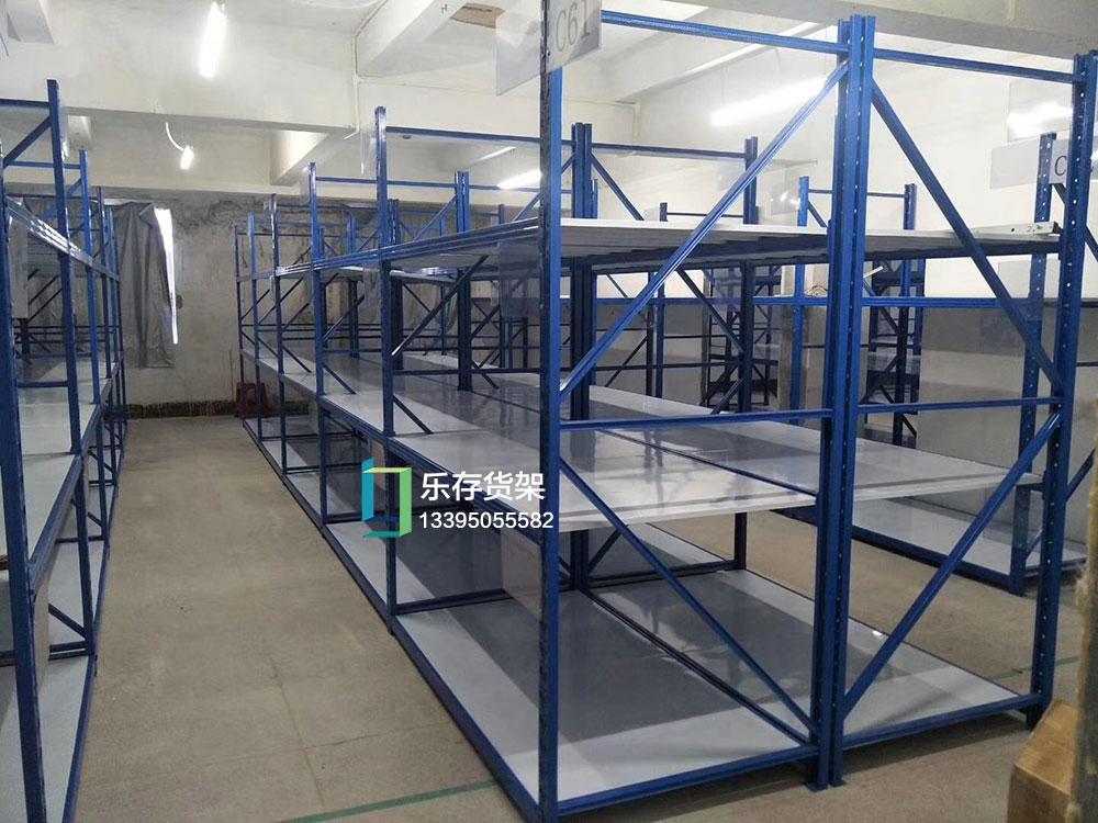 中型布条货架 -中型货架-仓库货架-仓储货架-仓储货架厂(乐存货架)