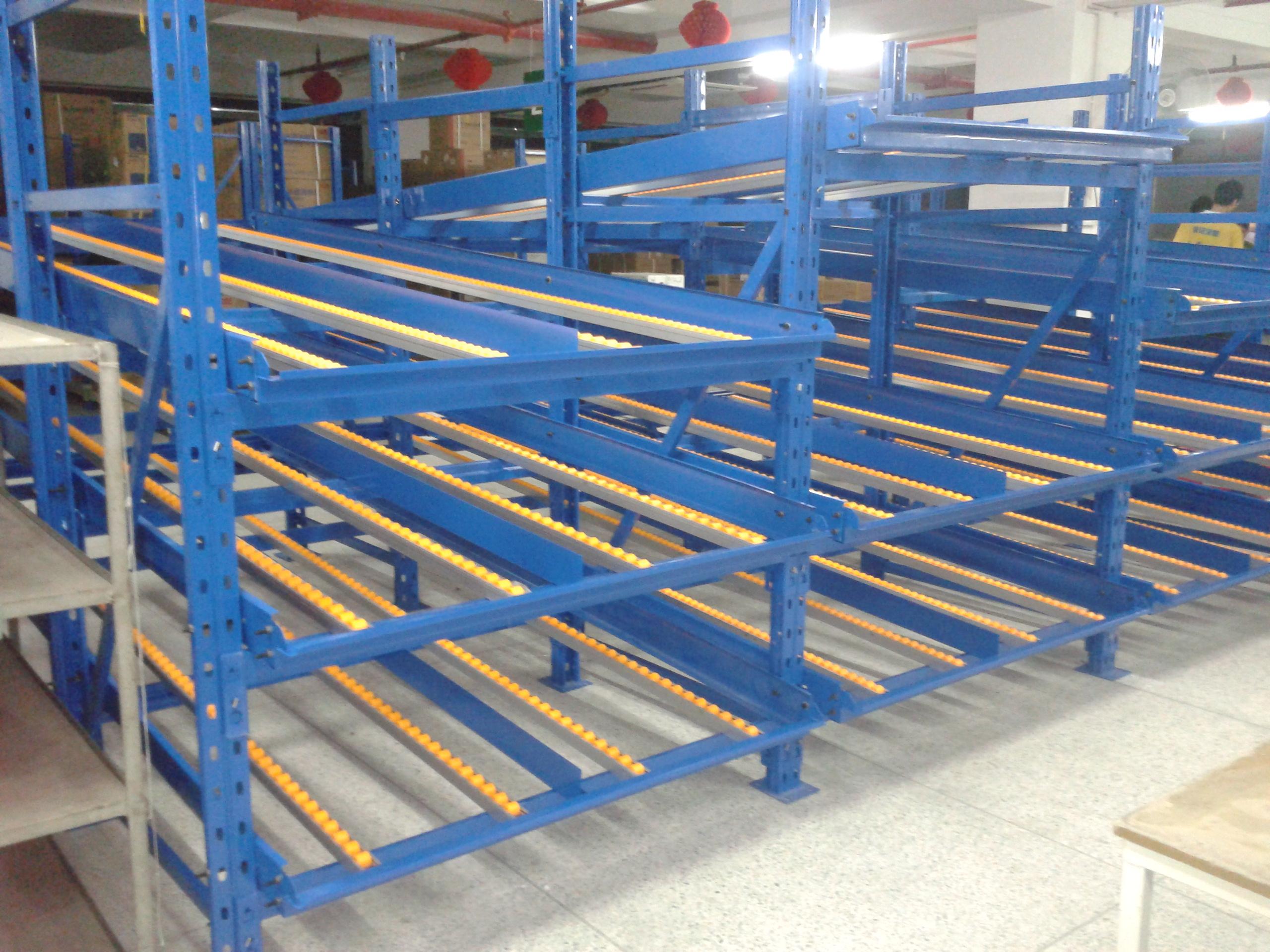 仓库流利货架 |仓库流利式货架|滑移式货架|仓库货架