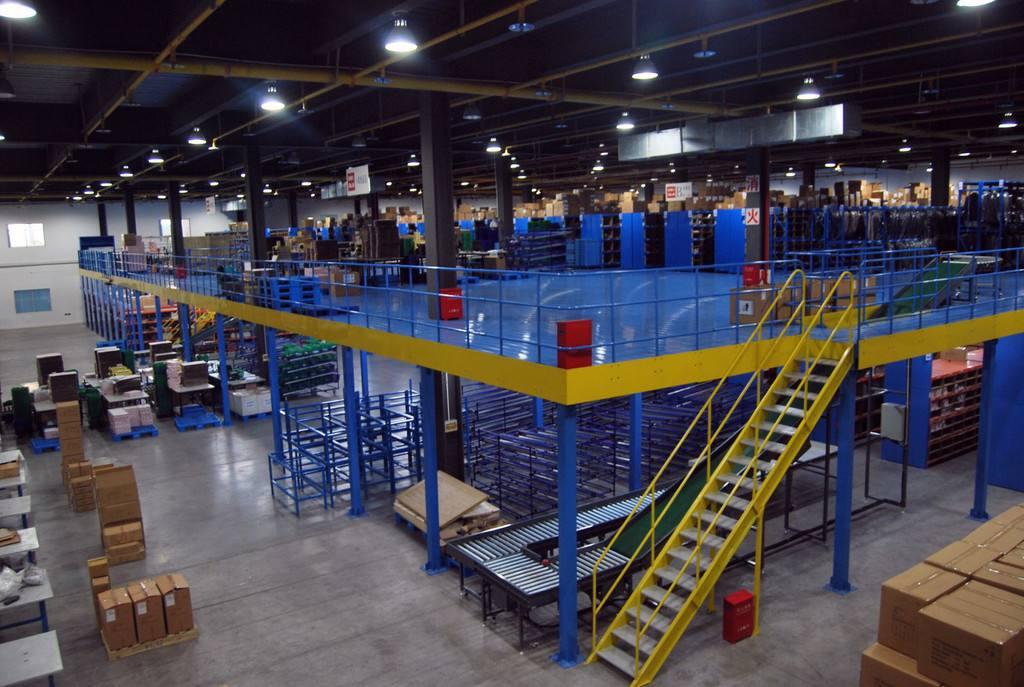 厂家定做仓库阁楼货架多层仓储式夹层钢平台货架库房阁楼专业定做