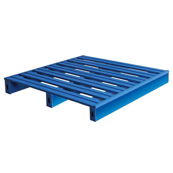 叉车金属托盘,仓储重型货架,铁托盘,防潮栈板钢质仓库托盘垫,仓板定制