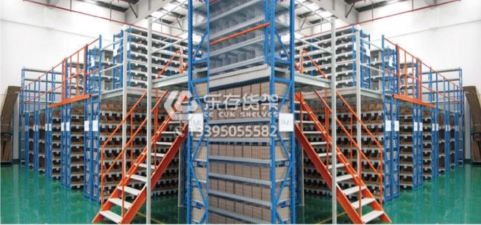 阁楼式货架、阁楼货架、阁楼平台、阁楼平台定制、阁楼货架厂